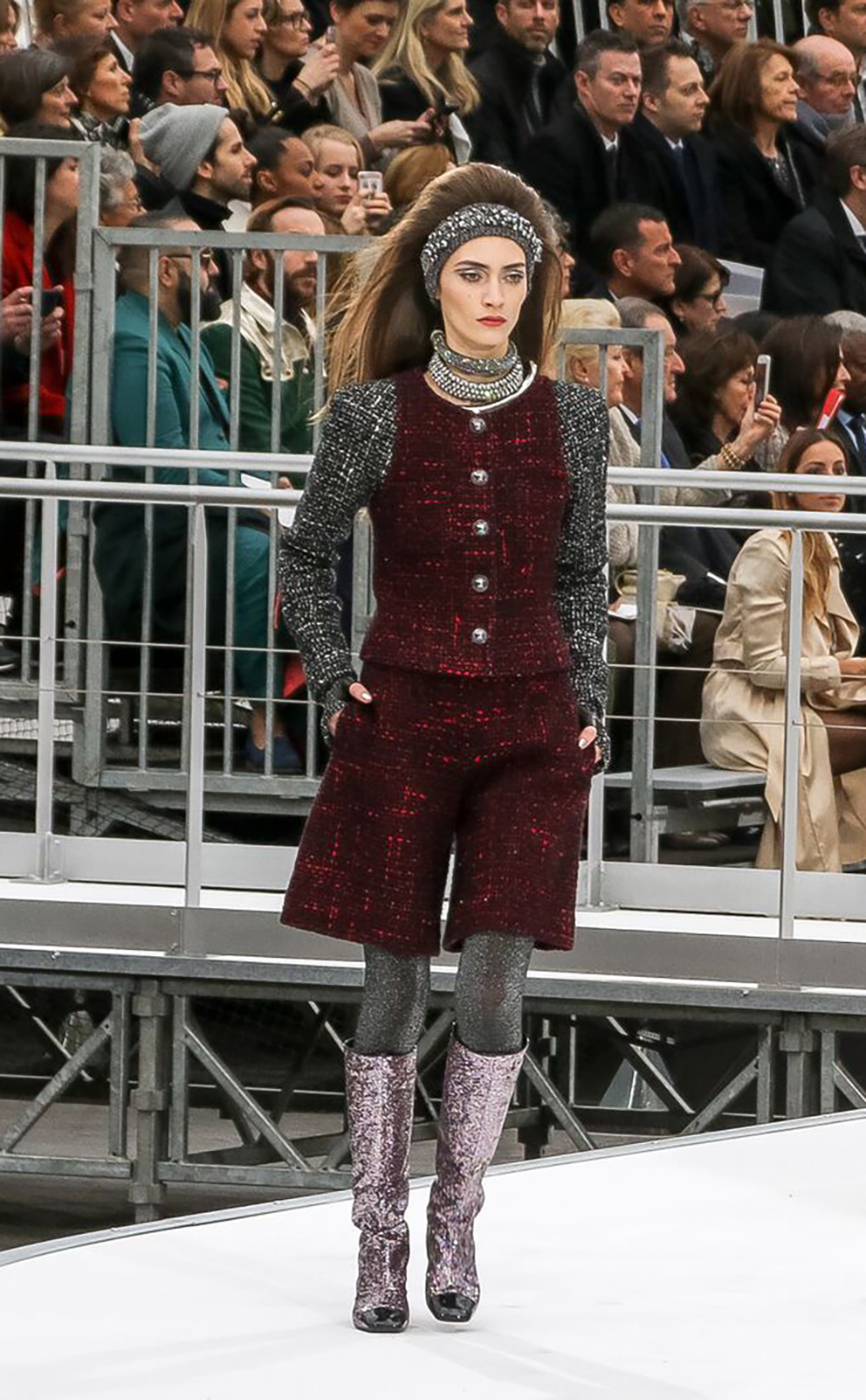 Collection autumn winter 2017-2018 by Chanel 43