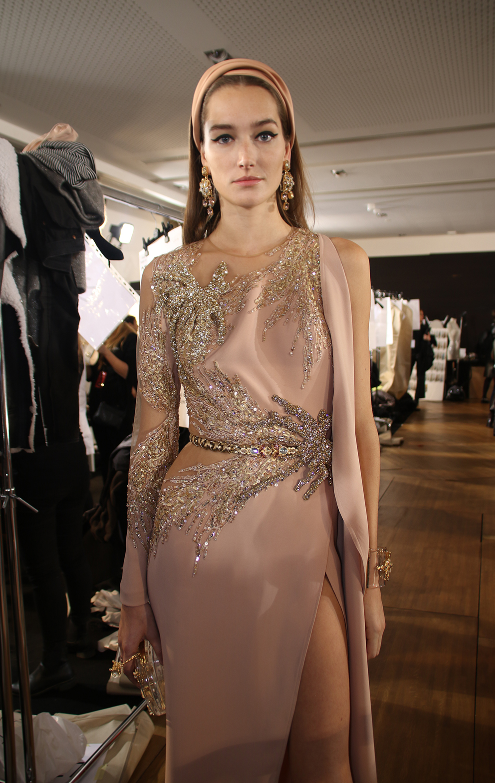 Elie saab backstage high couture spring summer 2017 for High couture