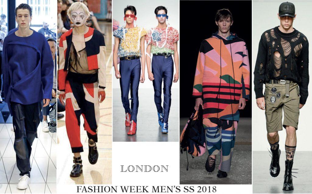 Londres garde la forme, un style street à la fashion week printemps-été 2018