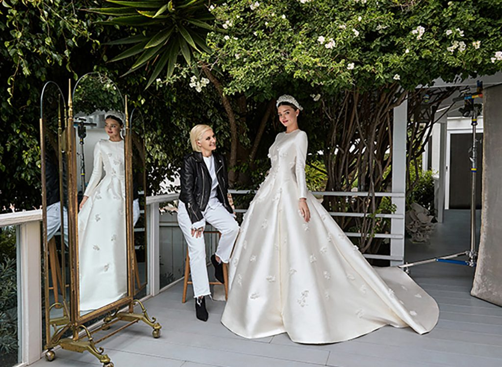DIOR PRESENTS MIRANDA KERR'S WEDDING DRESS