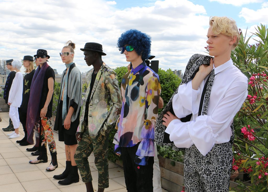 RYNSHU SPRING-SUMMER 2018 MEN'S FASHION SHOW