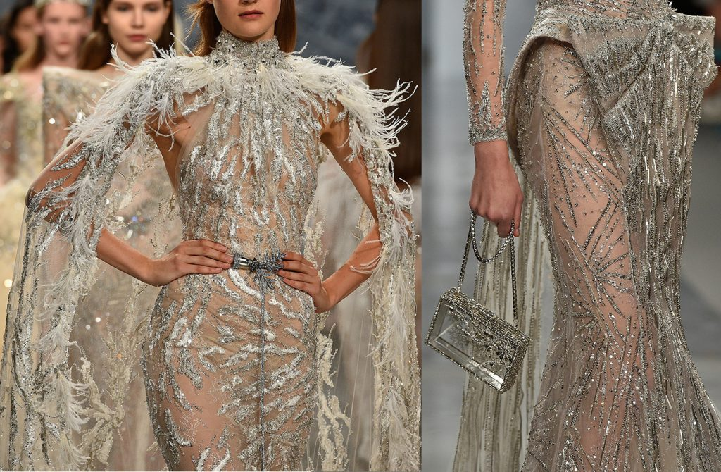 CLOSE-UP ZIAD NAKAD COUTURE AUTOMNE-HIVER 2017-2018