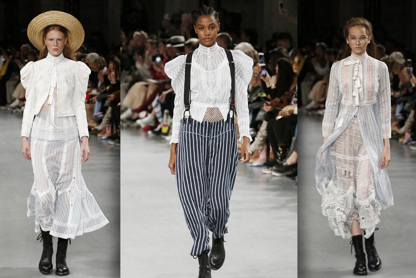 мода лето 2019 девочки