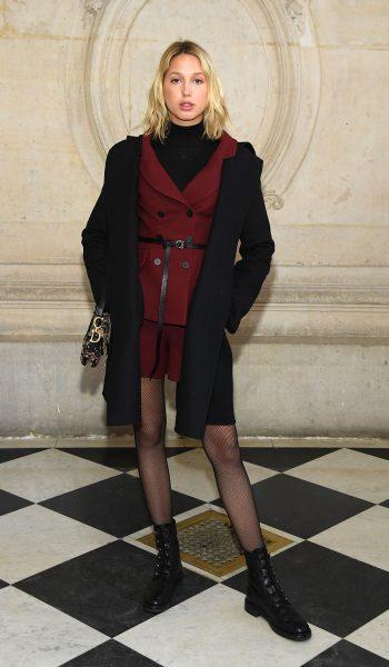 Christian Dior : Photocall – Paris Fashion Week – Haute Couture Spring Summer 2019