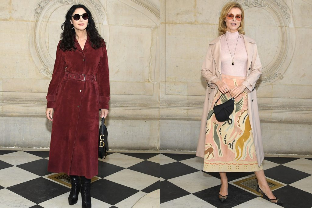 CELEBRITIES AT THE DIOR HIGHT COUTURE SHOW – SPRING-SUMMER 2019
