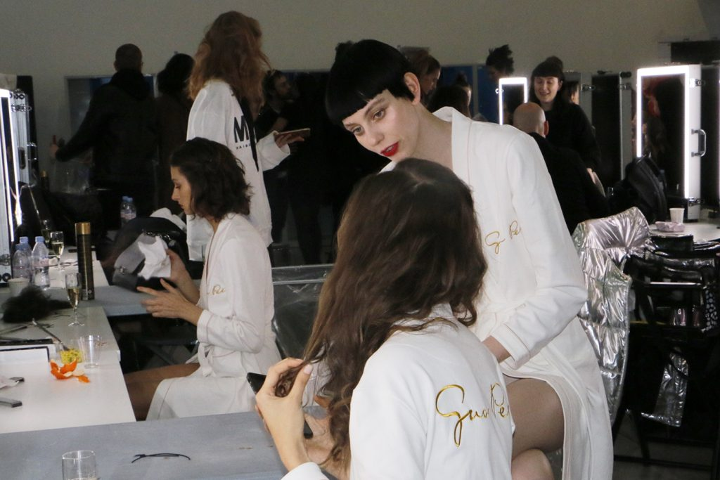 BACKSTAGE GUO PEI – HAUTE COUTURE – SPRING-SUMMER 2019