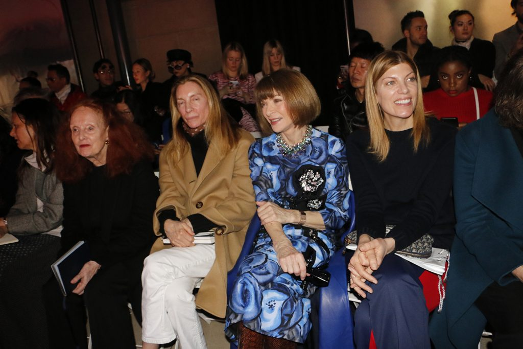 FRONT ROW – MIU MIU FALL-WINTER 2019/20