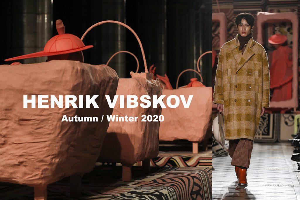HENRIK VIBSKOV AUTOMNE-HIVER 2020-21